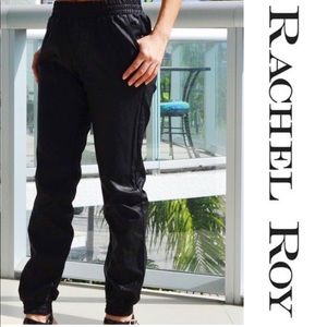 Rachel Roy black dress track pant